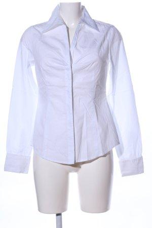 Esprit Hemd-Bluse weiß klassischer Stil