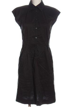 Esprit Abito blusa camicia nero stile professionale