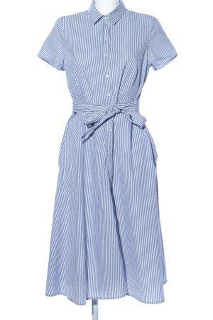 Esprit Vestido tipo blusón azul-blanco look casual