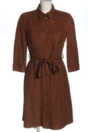 Esprit Koszulowa sukienka brązowy W stylu casual
