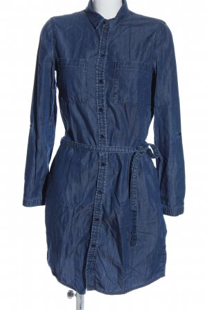 Esprit Hemdblusenkleid blau Casual-Look
