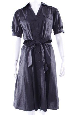 Esprit Hemdblusenkleid schwarz