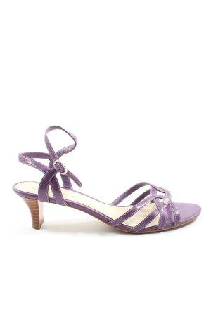 Esprit High Heel Sandaletten lila Casual-Look