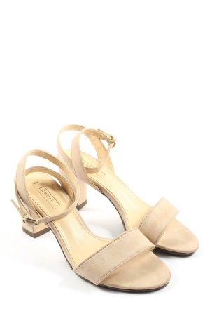 Esprit High Heel Sandaletten wollweiß Casual-Look