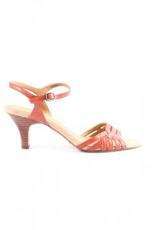 Esprit High Heel Sandaletten rot Casual-Look