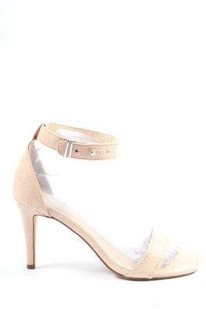 Esprit High Heel Sandaletten creme Casual-Look