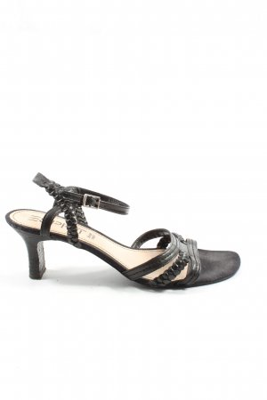 Esprit High Heel Sandaletten schwarz Casual-Look