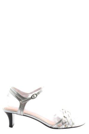 Esprit High Heel Sandaletten hellgrau Elegant