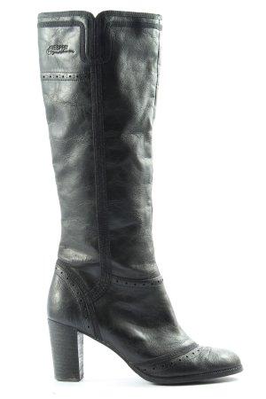 Esprit High Heel Stiefel schwarz Casual-Look