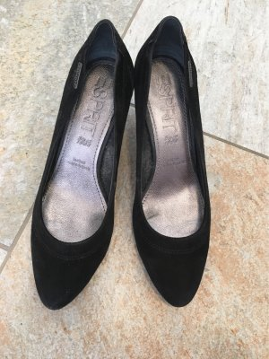 Esprit High Heels 38 schwarz