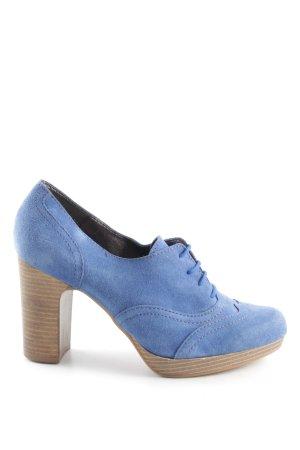 Esprit High Heels blau Casual-Look