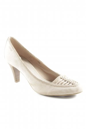 Esprit High Heels beige Business-Look