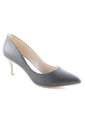 Esprit High Heels schwarz-hellbraun Business-Look