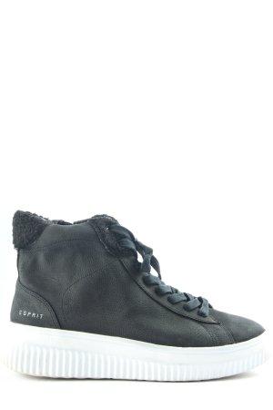 Esprit High Top Sneaker grün Casual-Look