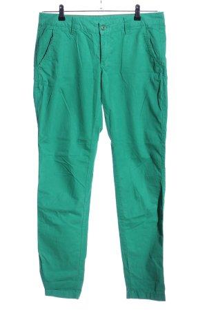 Esprit High-Waist Hose grün Casual-Look