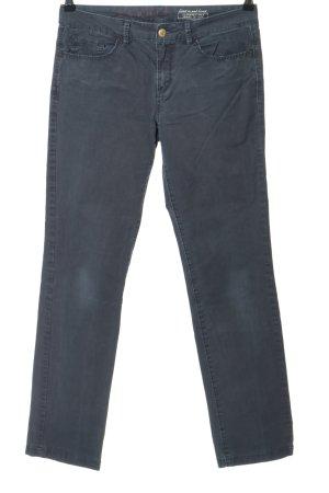 Esprit Pantalon taille haute gris clair style décontracté