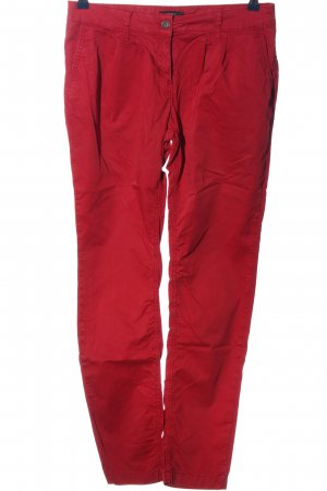 Esprit High Waist Trousers red casual look