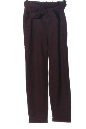Esprit Hoge taille broek rood casual uitstraling