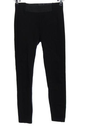 Esprit Spodnie z wysokim stanem czarny W stylu casual