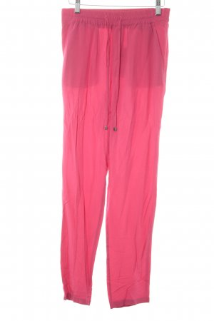 Esprit High-Waist Hose pink Casual-Look