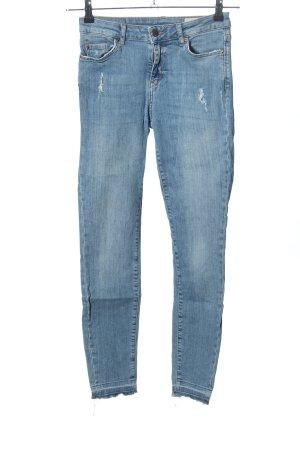 Esprit High Waist Jeans blau Casual-Look