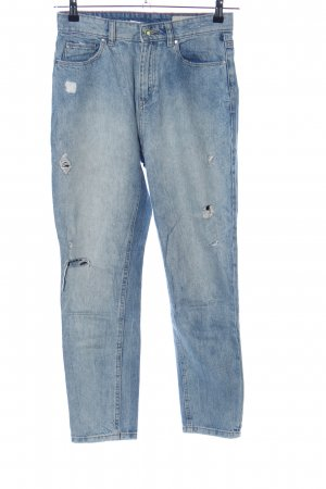 Esprit Hoge taille jeans blauw casual uitstraling