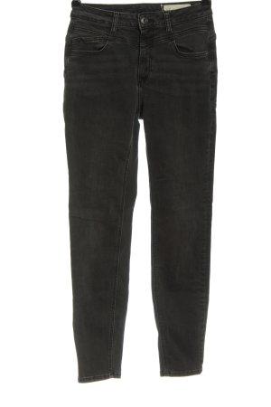 Esprit Jeans taille haute noir style décontracté