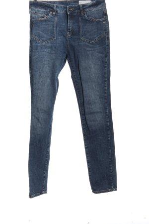 Esprit Jeans taille haute bleu style décontracté
