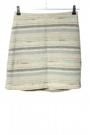 Esprit Rok met hoge taille gestreept patroon casual uitstraling