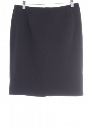 Esprit Falda de talle alto negro estilo «business»