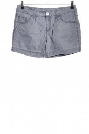 Esprit High-Waist-Shorts hellgrau Casual-Look