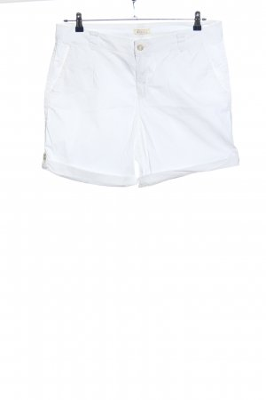 Esprit High-Waist-Shorts weiß Casual-Look