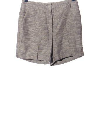 Esprit High-Waist-Shorts hellgrau-wollweiß Casual-Look