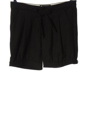 Esprit High-Waist-Shorts schwarz Casual-Look