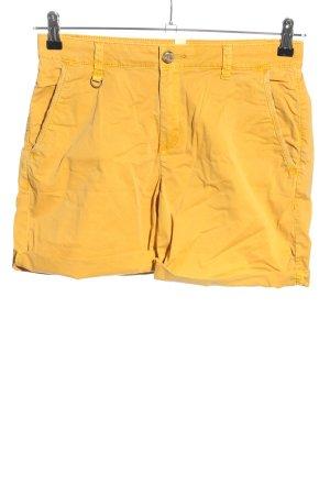 Esprit High-Waist-Shorts hellorange Casual-Look