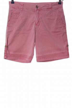 Esprit High-Waist-Shorts pink Casual-Look