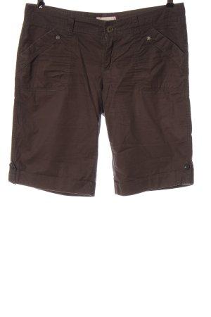 Esprit High-Waist-Shorts braun Casual-Look