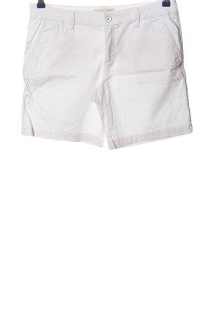 Esprit High-Waist-Shorts weiß Casual-Look