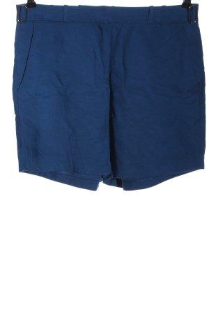 Esprit High-Waist-Shorts blau Casual-Look