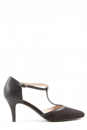 Esprit Hochfront-Pumps schwarz Casual-Look