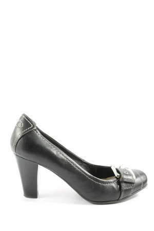 Esprit Hochfront-Pumps schwarz Business-Look