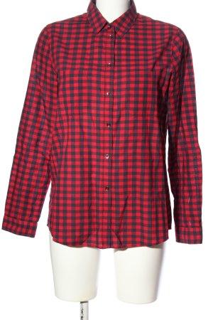 Esprit Holzfällerhemd rot-schwarz Karomuster Casual-Look