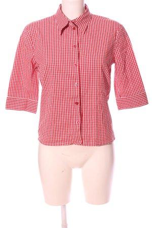 Esprit Holzfällerhemd rot-weiß Karomuster Business-Look