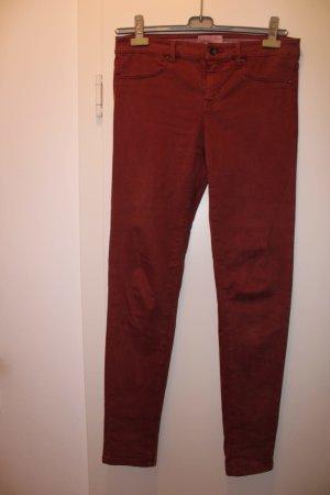 Esprit Pantalón de tubo carmín