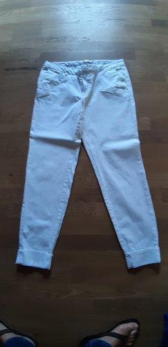 Esprit Pantalone cinque tasche bianco Cotone