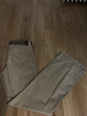 Esprit Pantalone a vita bassa beige-color cammello