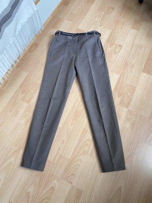 Esprit Pantalon en jersey gris brun-taupe