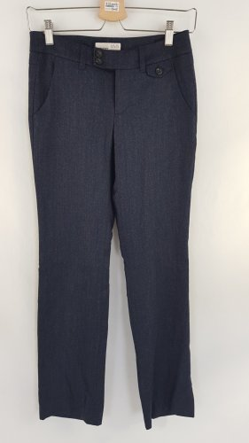 Esprit Pantalone di lana blu scuro
