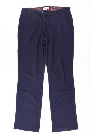 Esprit Hose Größe 38 blau aus Viskose