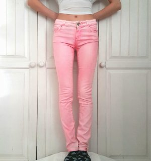 Esprit Hose jeans Röhrenjeans Röhrenhose rosa weiß pants pulli pullover sweater hoodie